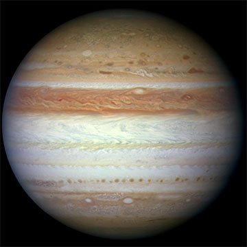 Jupiter by Hubble