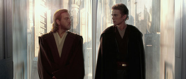 Attack of the Clones scene